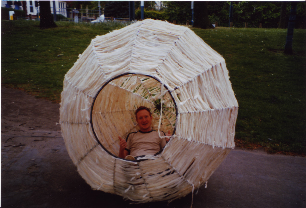 Fabric Nest at Forest Fields